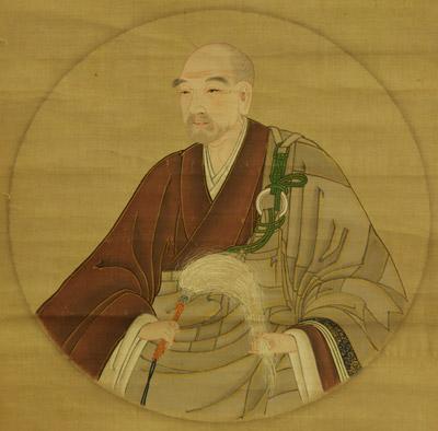 Unidentified Renzai Obakyu Monk_painting 18 century
